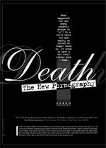 Death: The New Pornography