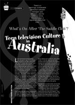 What's on After the Saddle-Club? The Television Culture in Australia