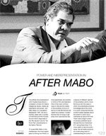 Power and representation in After Mabo