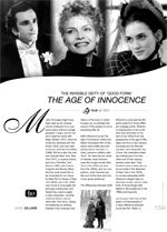 The Invisible Deity of 'Good Form': The Age of Innocence