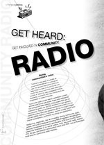 Get Heard: Get Involved in Community Radio