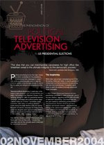 The Phenomenon of Political Television Advertising in US Presidential Elections