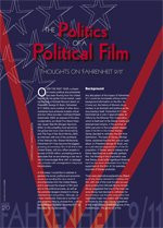 The Politics of a Political Film: Thoughts on Fahrenheit 9/11