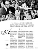 To Kill a Mockingbird: Seeing the Film Through the Lens of Film Language and Media Literacy ?Part 1