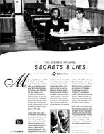 The Business of Living: Secrets & Lies