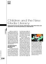 Children and the New Media Literacy