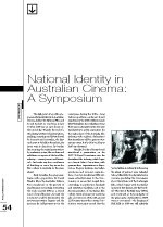 National Identity in Australian Cinema: A Symposium