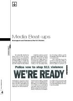 Media Beat-ups: Newspapers and Television at the S11 protests