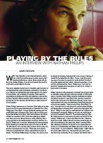 Playing By The Rules: An Interview with Nathan Phillips