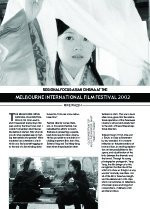 Regional Focus: Asian Cinema at the Melbourne International Film Festival 2002