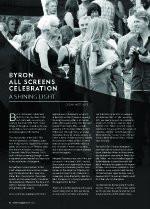 Byron All Screens Celebration: A Shining Light