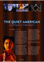 ?he Quiet American?  A Critique In Three Parts
