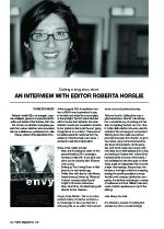 Cutting a Long Story Short: An Interview With Editor Roberta Horslie