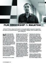 Exploring Film Censorship in Malaysia