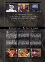 Remembrance + the Moving Image