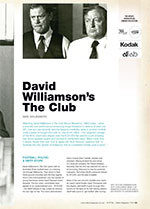 NFSA's Kodak/Atlab Cinema Collection: <em>David Williamson's The Club</em>