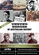 Unsung Heroes of Australian History: Primary (Part 2)
