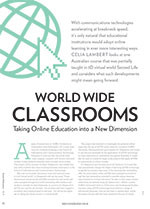 World Wide Classrooms: Taking Online Education into a New Dimension