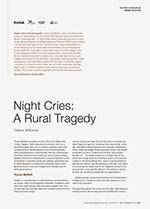 NFSA's Kodak/Atlab Cinema Collection: <em>Night Cries: A Rural Tragedy</em>