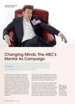 Changing Minds: The ABC's Mental As Campaign