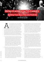 From Classroom to Cannes: Getting Your Short Film into Festivals