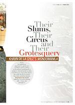 Their Slums, Their Circus and Their Grotesquery: Khavn De La Cruz's <em>Mondomanila</em>