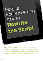 Mobile Screenwriting Apt to Rewrite the Script