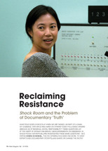 Reclaiming Resitance: Shock Room and the Problem of Documentary 'Truth'