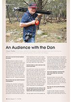 An Audience with the Don