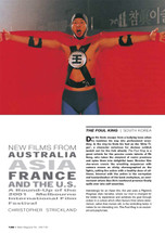New Films from Australia, Asia, France and the US: A Round-up of the 2001 Melbourne International Film Festival