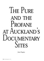 The Pure and the Profane at Auckland's Documentary Sites