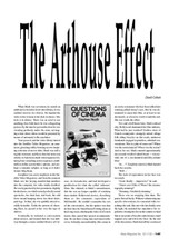 The Arthouse Effect