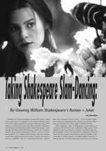 Taking Shakespeare Slam-Dancing: Reviewing 'William Shakespeare's Romeo + Juliet'