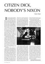 Citizen Dick, Nobody's Nixon