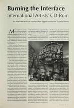 Burning the Interface: International Artists' CD-ROM