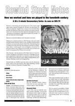 Rewind' (A Study Guide)
