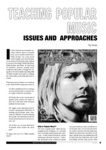 Teaching Popular Music: Issues and Approaches