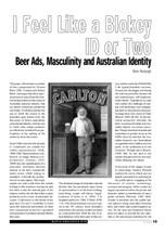 I Feel Like a Blokey ID or Two: Beer Ads, Masculinity and Australian Identity