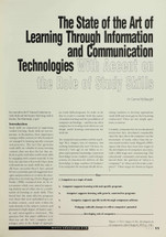 The State of the Art of Learning Through Information and Communication Technologies with Accent on the Role of Study Skills