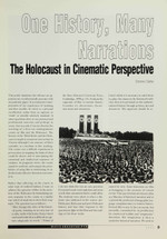 One History, Many Narrations: The Holocaust in Cinematic Perspective