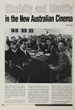 Ethnicity and Identity in the New Australian Cinema
