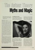 The Auteur Theory: Myths and Magic