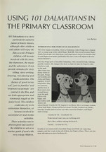 Using '101 Dalmatians' in the Primary Classroom