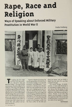 Rape, Race and Religion: Ways of Speaking about Enforced Military Prostitution in World War II