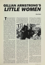 Gillian Armstrong's 'Little Women'