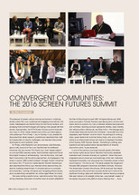 Convergent Communities: The 2016 Screen Futures Summit