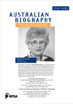 Australian Biography Series (Veronica Brady) Study Guide