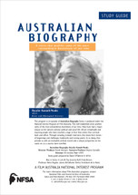 Australian Biography - Rosalia Kunoth Monks (Study Guide)