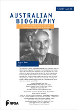 Australian Biography Series - Bruce Dawe (Study Guide)