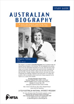 Australian Biography Series - Margaret Fulton (Study Guide)